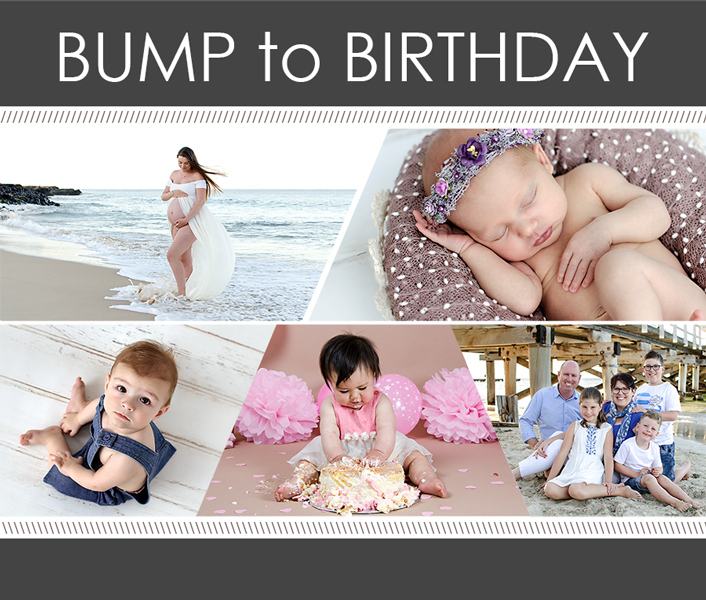 Bump to Birthday Jodi Byles Photography Packages